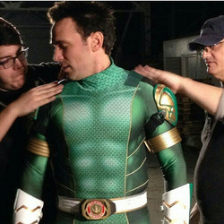 Green Power Ranger Cosplay Costume