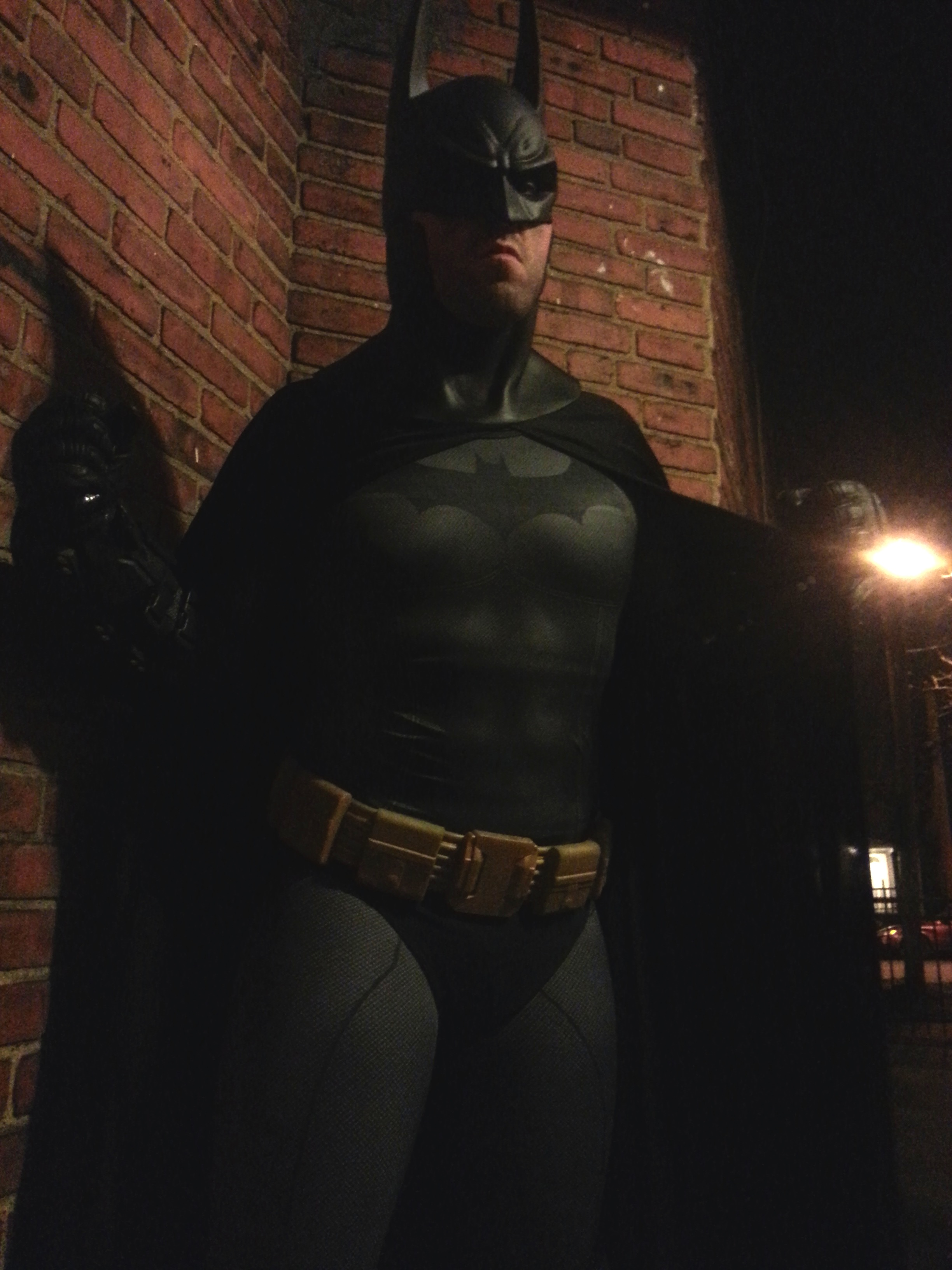 Arkham City Batman Subdye cosplay
