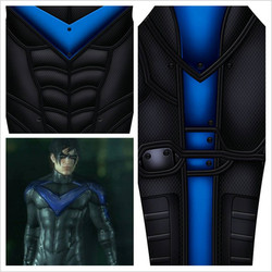 Nightwing Cosplay inspired design