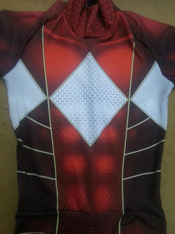 Red Power Ranger suit
