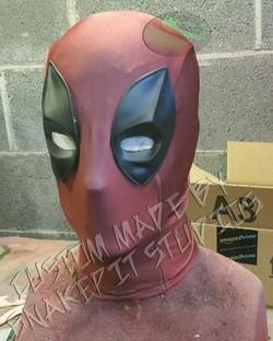Ryan Reynolds Inspired Deadpool Mask