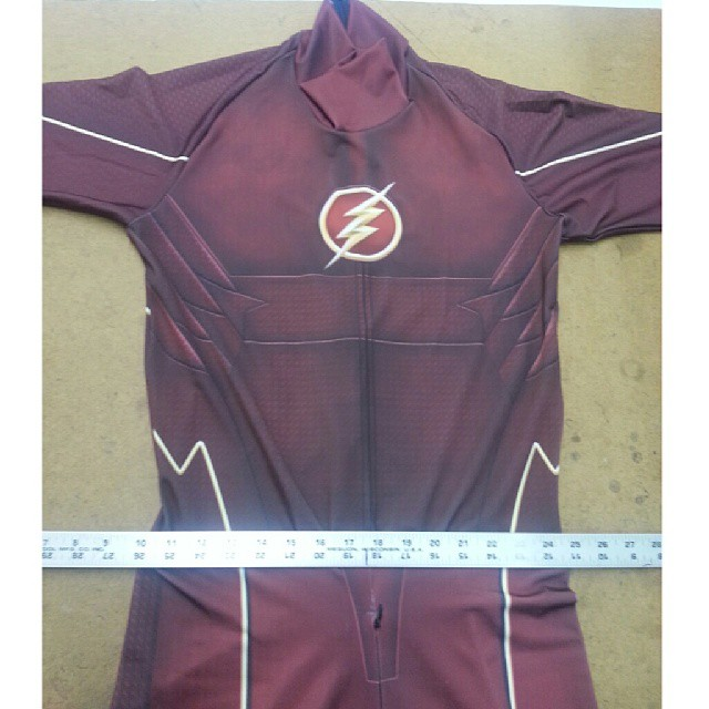 CW's Flash cosplay costume