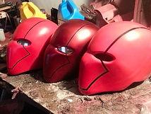 Red Hood cosplay helmets