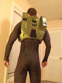 Halo 3 under suit