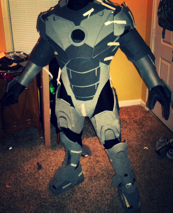 Iron Man Cosplay Costume