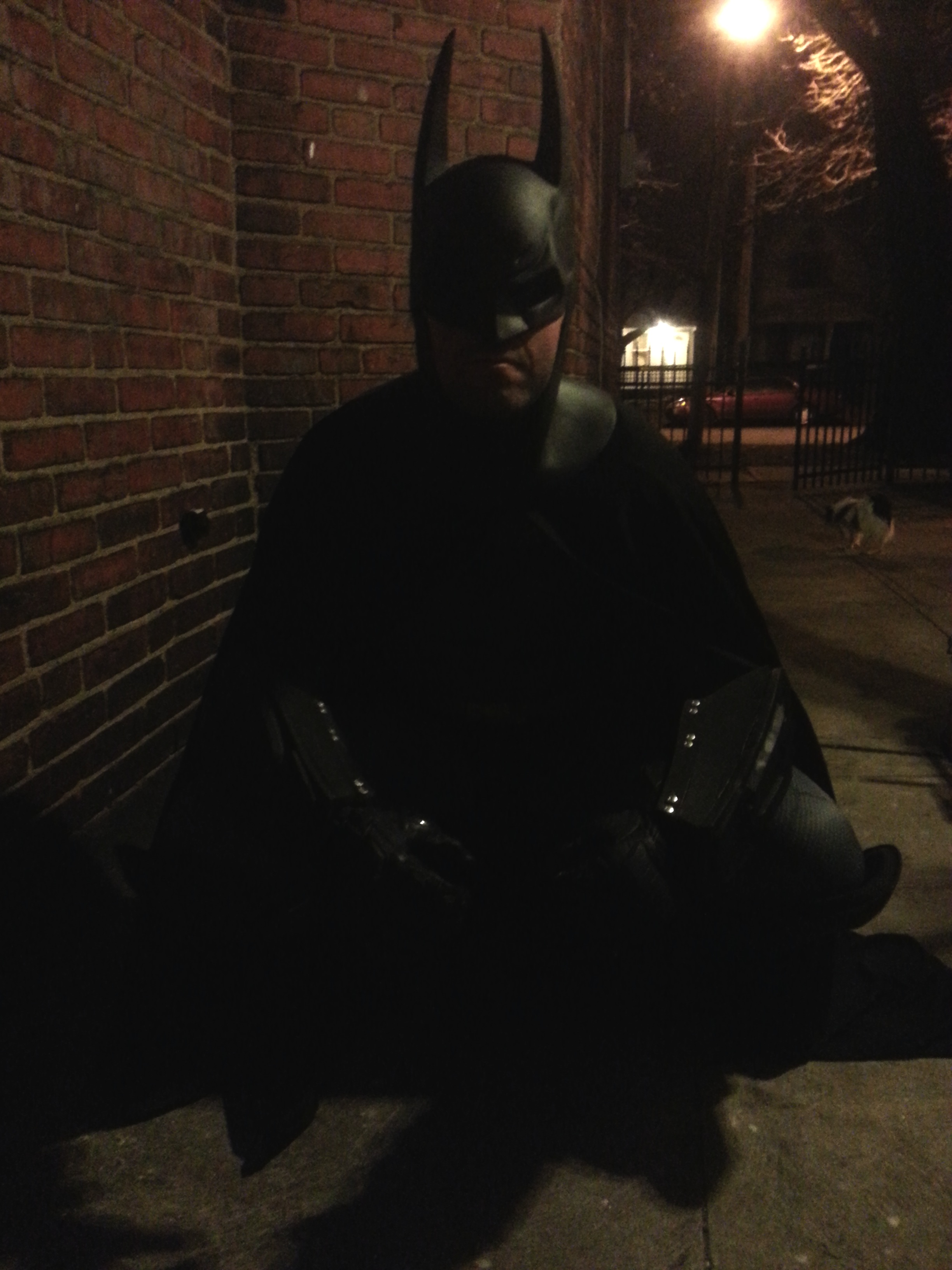 Arkham City Batman Cosplay Costume