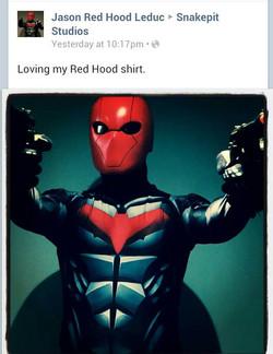 Red Hood Testimonial