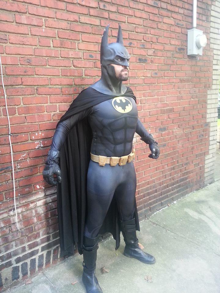 1989 Batman cosplay costume