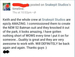 New 52 Batman Testimonial