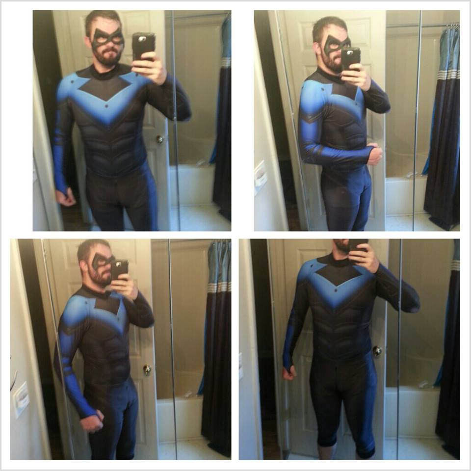 Nightwing Cosplay Costume