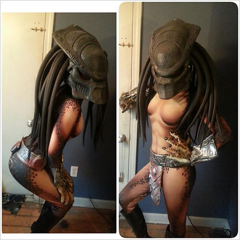 Female Predator Cosplay Costume