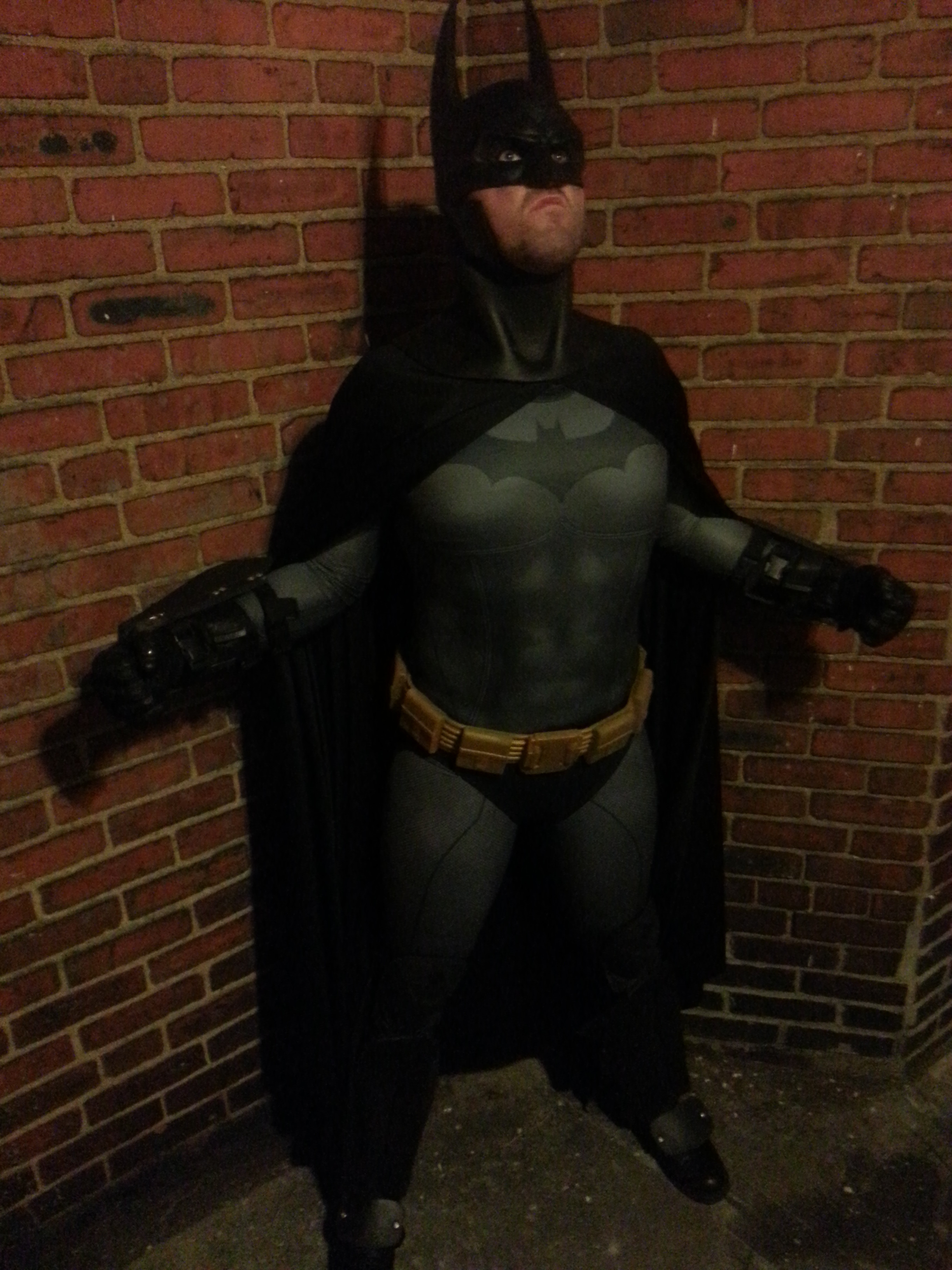 Arkham City Batman sub dye costume