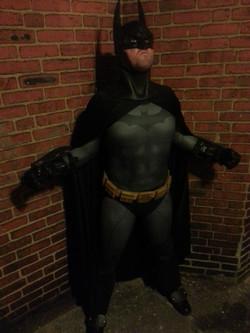 Arkham City Batman sub dye costume