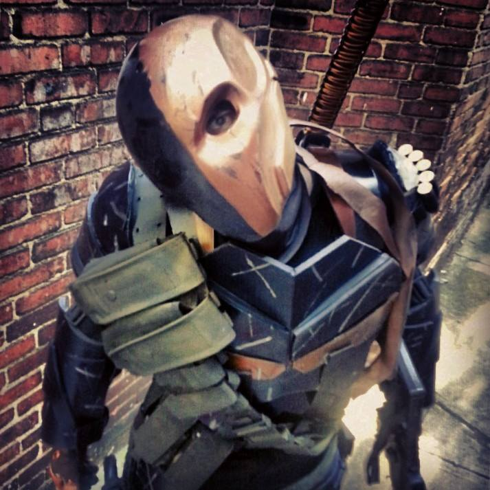 Death Stroke cosplay costume