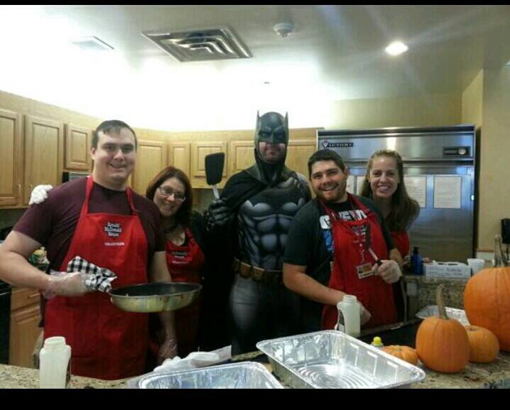 At Ronald McDonald House