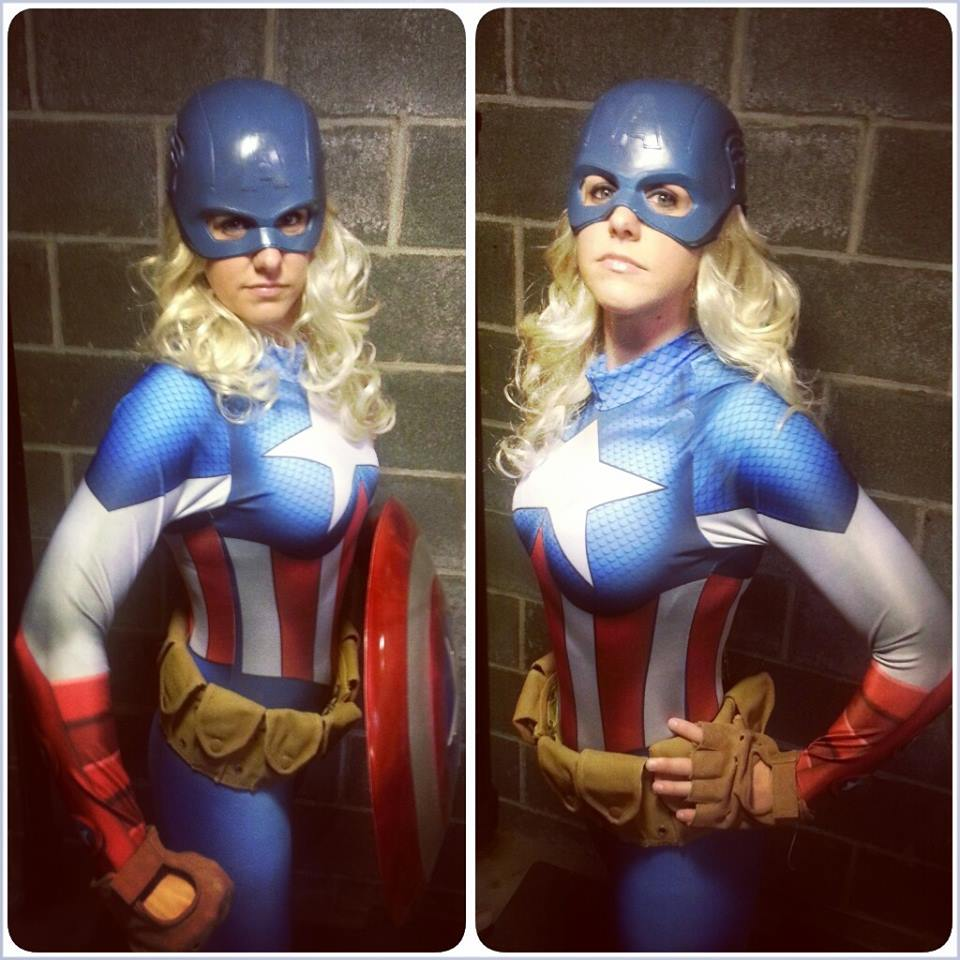 American Dream Cosplay suit