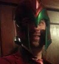 Magneto cosplay costume helmet