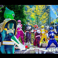 Power Rangers All Colors