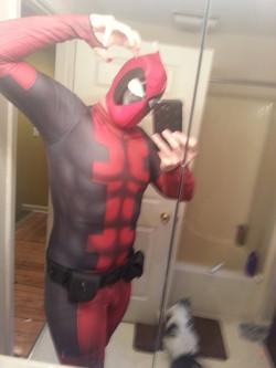 Deadpool Sub Dye Cosplay Costume