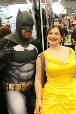 Batman found Princess Belle