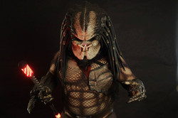 Predator under suit