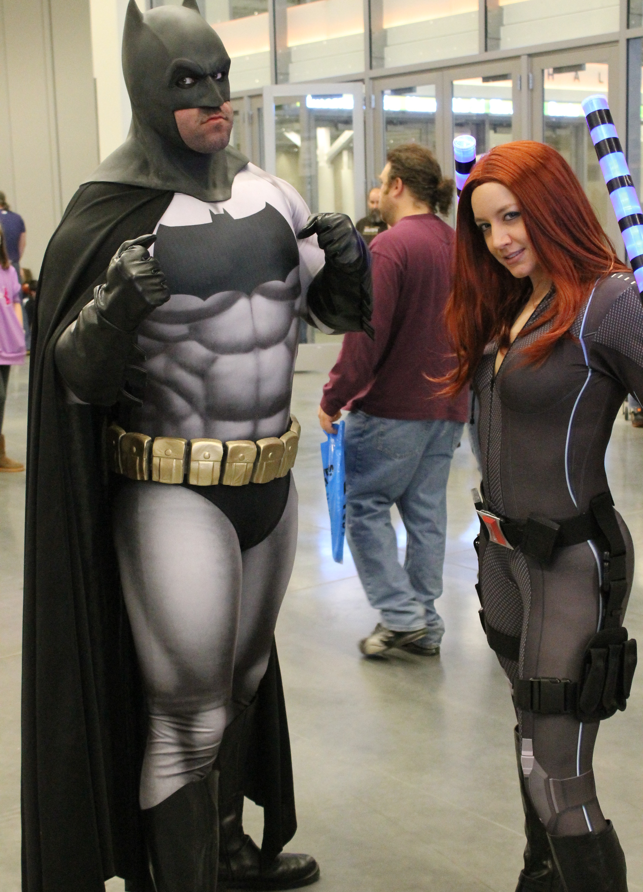 Batman and Black Widow