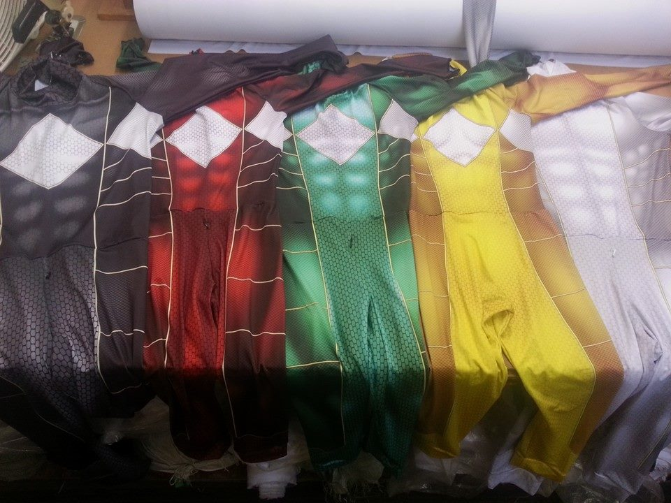 Power Rangers Cosplay Costume