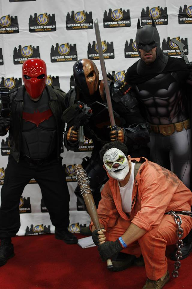 Snake Pit crew at Wizard World