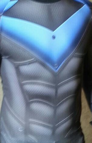 Nightwing sub dye cosplay costume