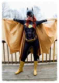New 52 Batgirl Cosplay Costume
