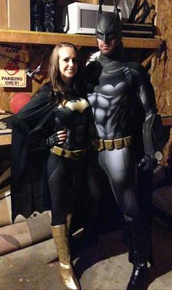 New 52 Batgirl cosplay