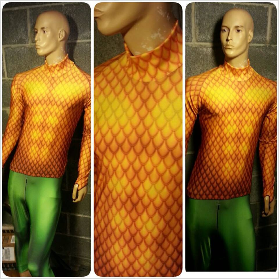 Aquaman cosplay costume