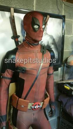 Ryan Reynolds Deadpool with leather