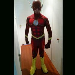 Flash cosplay costume