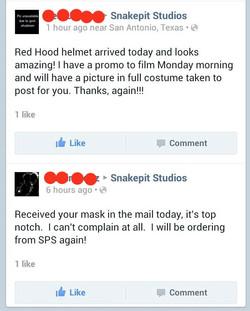 Red Hood Helmets Testimonial
