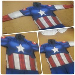 Classic Captain America test print