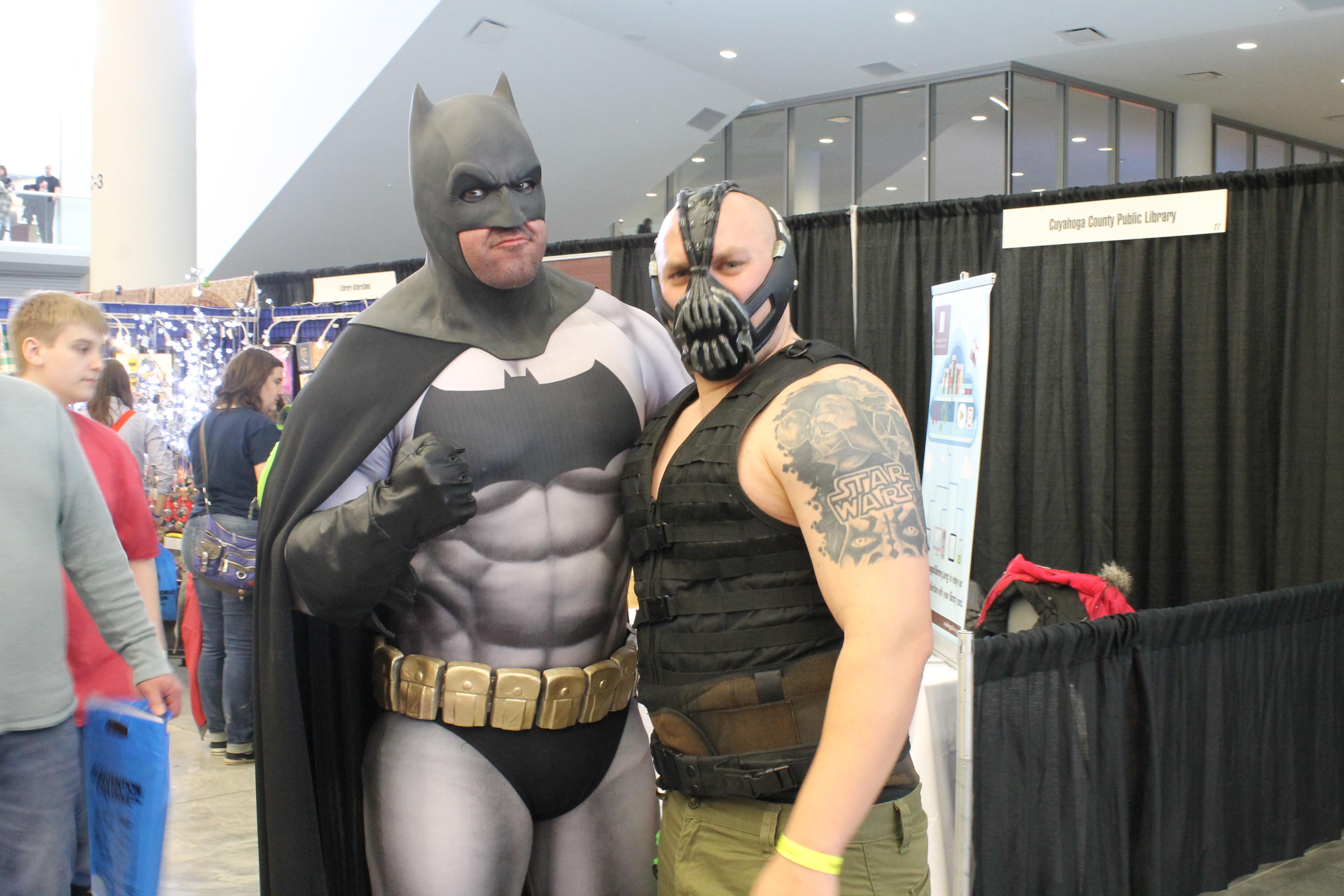 Snakepit's Batman with Bane