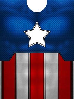 Classic Captain America design print