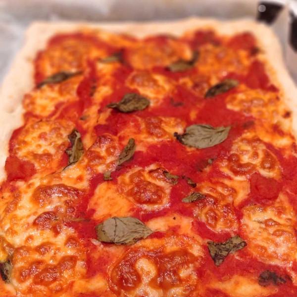 Margherita Pizza with Good Harvest Co. Self Raising Flour