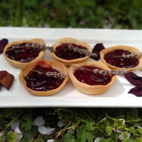 Raspberry Jam Tartlet with Good Harvest Co. Plain Flour