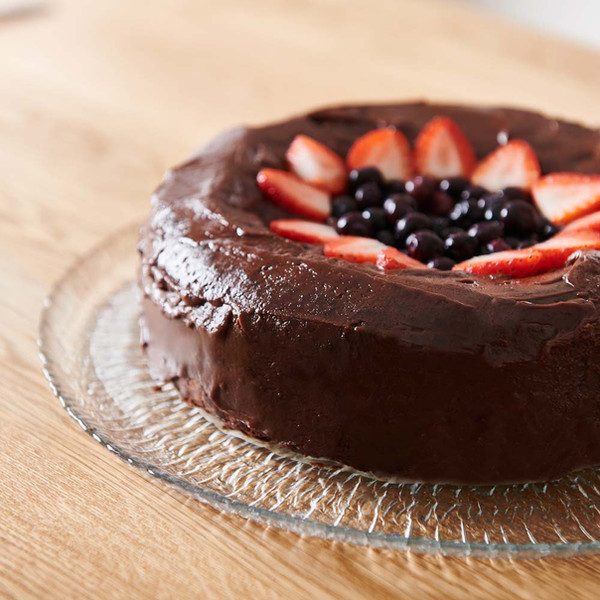 Chocolate Mud Cake with Good Harvest Co. Plain Flour