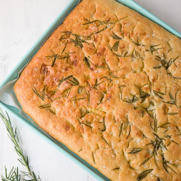 Rosemary Focaccia with Good Harvest Co. Plain Flour