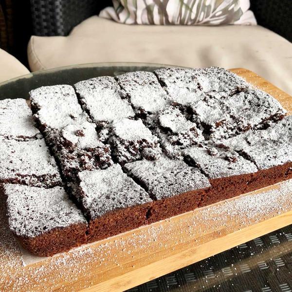 Chocolate Brownies with Good Harvest Co. Plain Flour