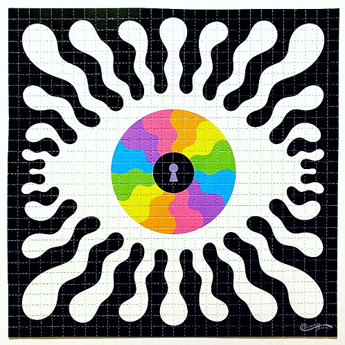 EYE SEE YOU - HAND SIGNED BLOTTER PRINT