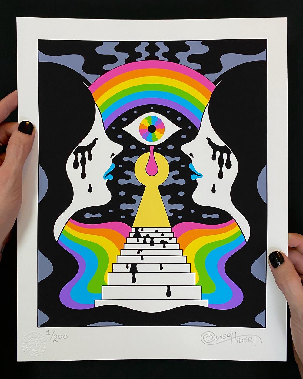 Oliver Hibert - Double Daydreem Print