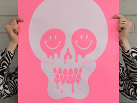 "New limited edition ""Death in Pink"" prints in the shop!"