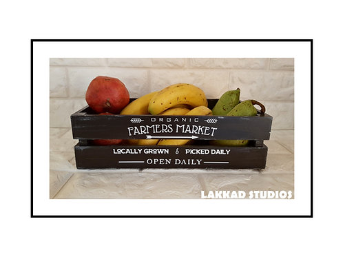 Wooden Decorative Rustic Style Box for Storage