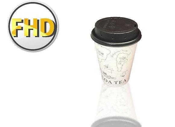 כוס נייר מצלמת