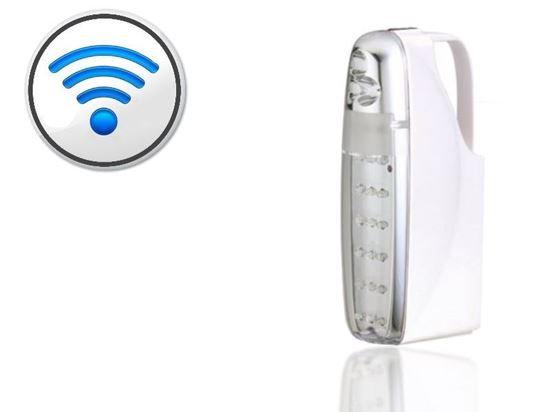 תאורת חירום שולחנית עם DVR-WIFI