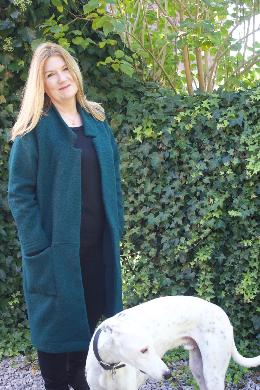 style arc Parker coat, cosy cardi challenge